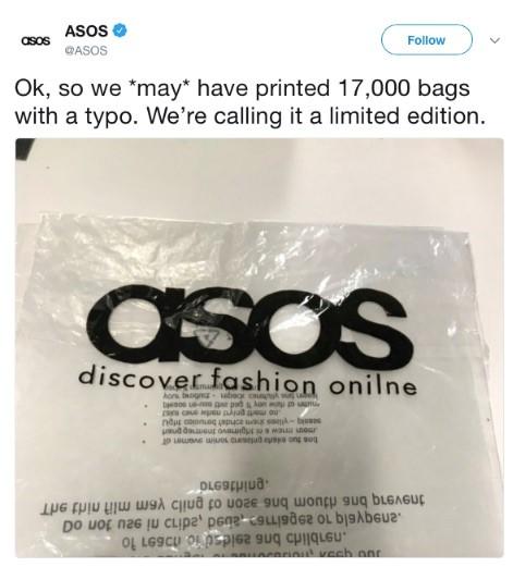 asos marketing